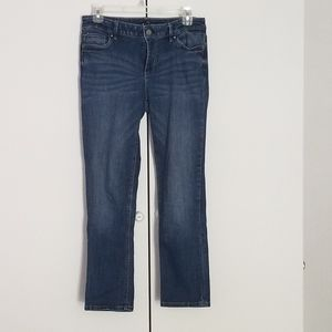 WHBM Slim Crop Jean's, Size 4
